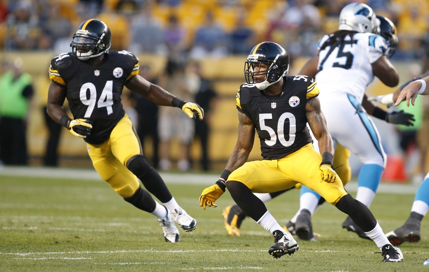 lawrence-timmons-ryan-shazier-nfl-preseason-carolina-panthers-pittsburgh-steelers